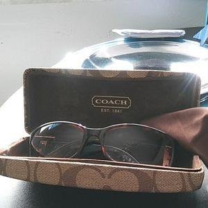 Coach eyeglasse